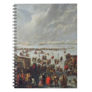 Ice on the Lagoon Notebook
