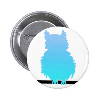 Ice Owl Buttons