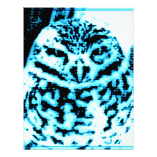 Ice Owl Personalized Letterhead