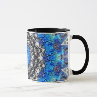 Ice Petals Mandala Mug