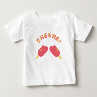 Ice Pop Cheers Graphic Baby T-Shirt