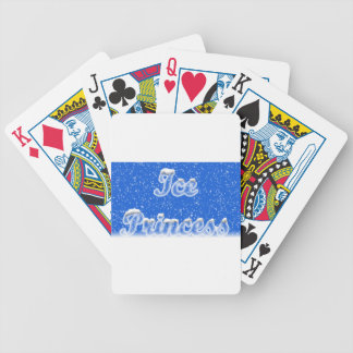 Ice Princess Bicycle Playing Cards