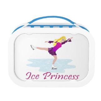 Ice Princess Figure Skater Lunch Box