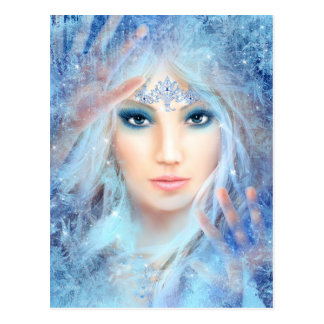 Ice Princess Postcard