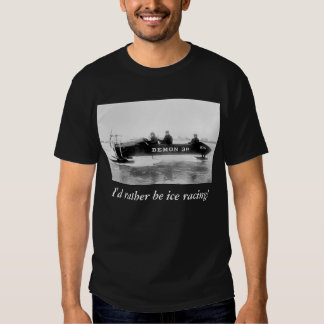 Ice Racing, Duluth, 1910s T Shirts