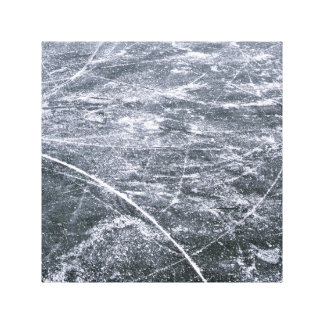 Ice rink canvas print