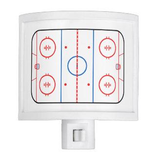 Ice Rink Diagram Hockey Game Companion Nite Lites