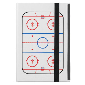 Ice Rink Diagram Hockey Game Companion Covers For iPad Mini