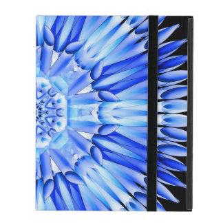 Ice Shards Mandala iPad Folio Case