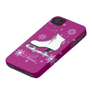 Ice Skate Cell Phone Cover iPhone 4 Case-Mate Case