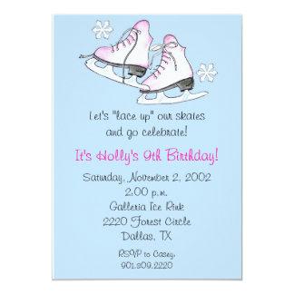 Ice Skate Invitations