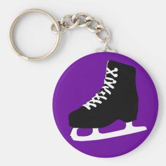 ice skate keychain