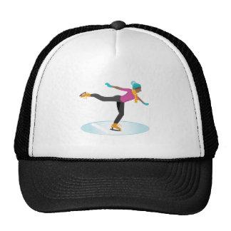 Ice Skater Trucker Hat
