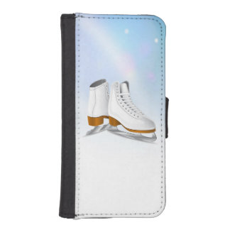 Ice Skates iPhone Wallet Case iPhone 5 Wallet Case