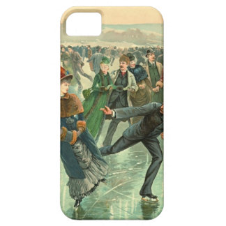 Ice Skating 1885 iPhone 5 Covers