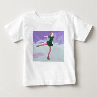 Ice Skating Art Baby T-Shirt
