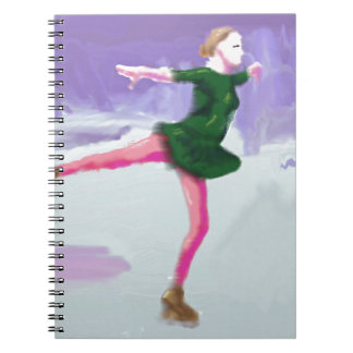 Ice Skating Art Notebooks