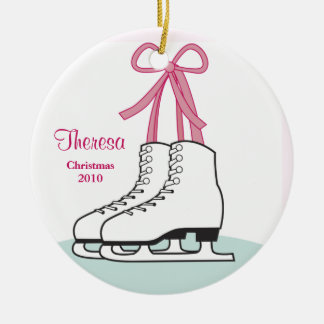 Ice Skating Christmas Ornament