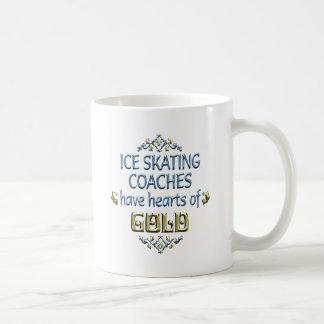 Ice Skating Coach Appreciation Classic White Coffee Mug