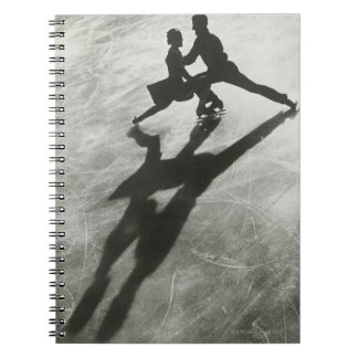Ice Skating Couple Notebooks