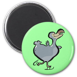 ice skating dodo magnet