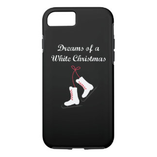 Ice Skating Dreams of a White Christmas iPhone 8/7 Case