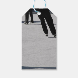 Ice Skating Gift Tags