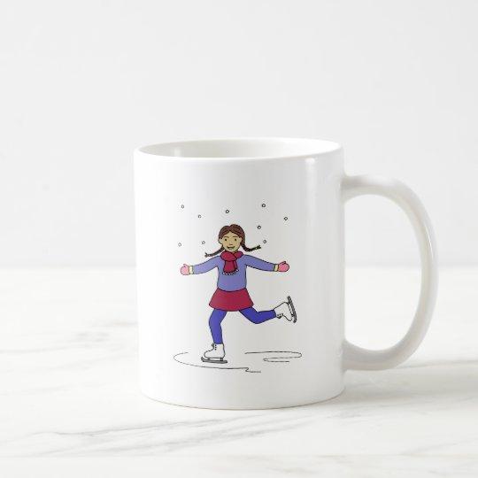 Ice Skating Girl Figure Skater Coffee Mug