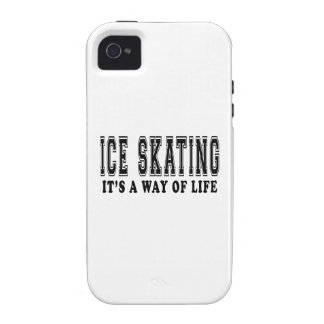 Ice Skating It's way of life Vibe iPhone 4 Case