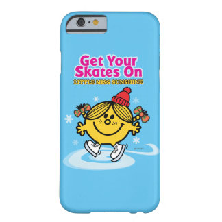 Ice Skating Little Miss Sunshine Barely There iPhone 6 Case