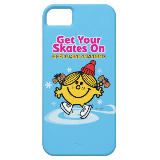 Ice Skating Little Miss Sunshine iPhone 5 Cases