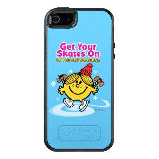 Ice Skating Little Miss Sunshine OtterBox iPhone 5/5s/SE Case
