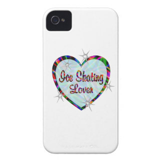 Ice Skating Lovers iPhone 4 Case-Mate Cases