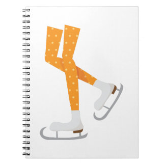 Ice Skating Notebook