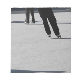 Ice Skating Notepad