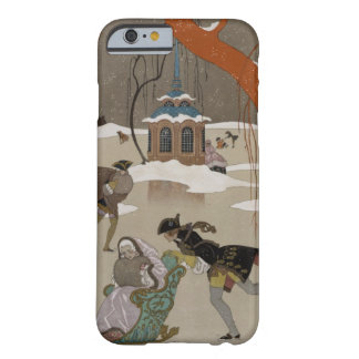 Ice Skating on the Frozen Lake iPhone 6 Case