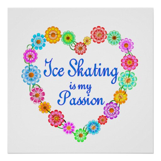 Ice Skating Passion Posters