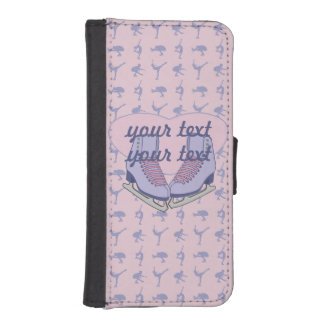 Ice Skating Personalized Phone Wallet Cases