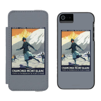 Ice Skating - PLM Olympic Promo Poster Incipio Watson™ iPhone 5 Wallet Case