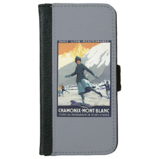 Ice Skating - PLM Olympic Promo Poster iPhone 6 Wallet Case