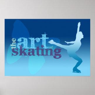 Ice Skating Poster