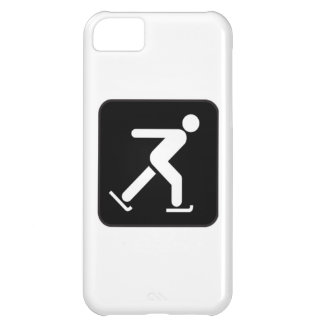 Ice Skating Sign Case For iPhone 5C