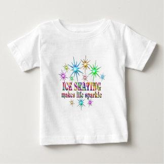 Ice Skating Sparkles Baby T-Shirt