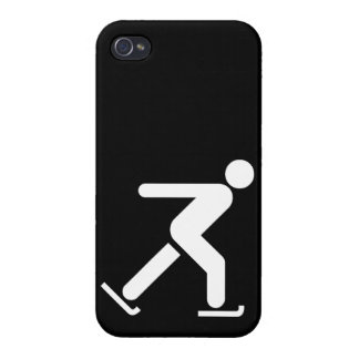 Ice Skating Symbol iPhone 4 Cases