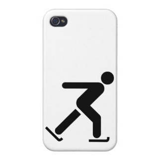 Ice Skating Symbol iPhone 4 Covers