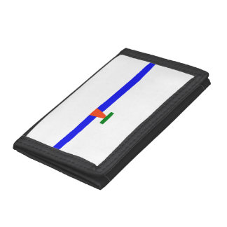 Ice Skating Trifold Wallets