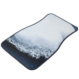 Ice, snow and moving water car mat