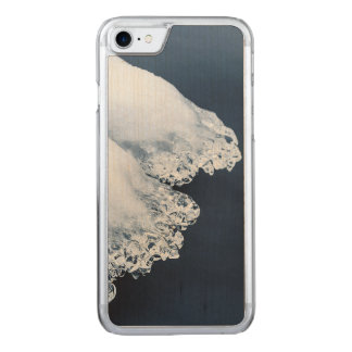 Ice, snow and moving water carved iPhone 8/7 case