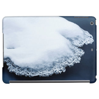 Ice, snow and moving water case for iPad air