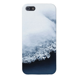 Ice, snow and moving water iPhone 5/5S covers